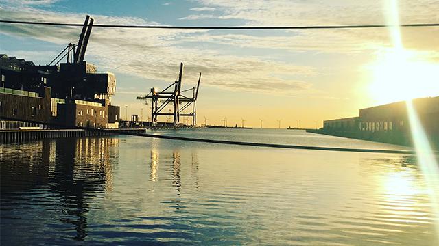 Harbour in Copenhagen