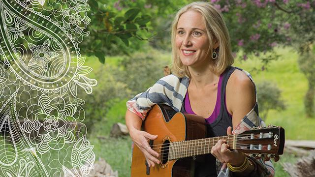 Samantha playing medicine music