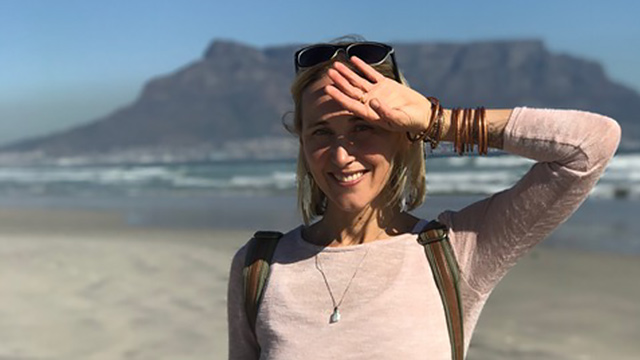 Samantha on Milnerton beach