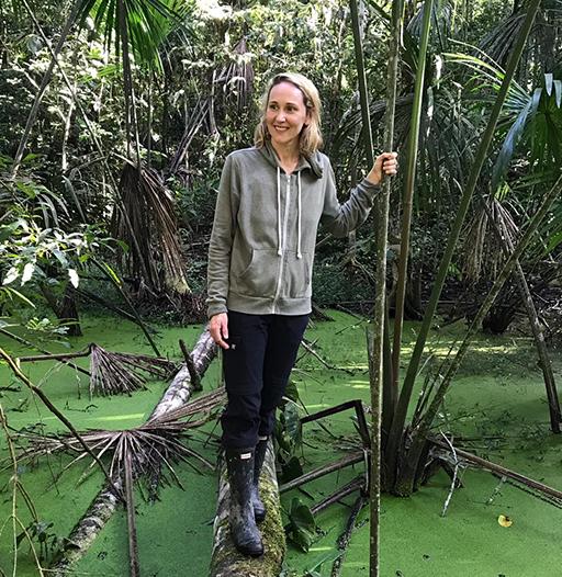 Samantha in the Amazon Rainforest